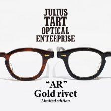 julius tart optical(ジュリアス・タート・オプティカル)限定モデル